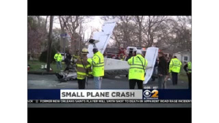 Plane Crashes on Long Island Street