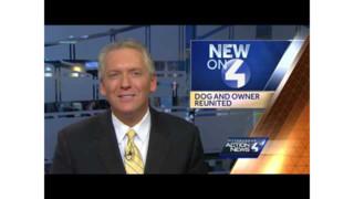 Dog, Owner Reunited Weeks after Fire