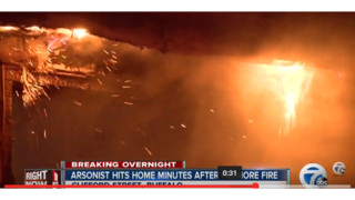 Buffalo Firefighters Battle Two Fires at Same Time