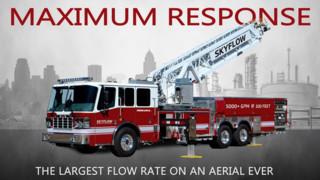 Ferrara to Display Aerial flowing 5,000 gpm at FDIC