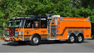 Brooklyn Hose Co., Lewistown, Pa., Gets Big Pumper/Tanker