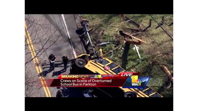 Dozens Hurt in Md. School Bus Wreck