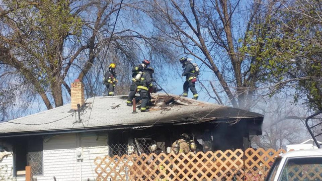 wash firefighters enlarge basement window to rescue man