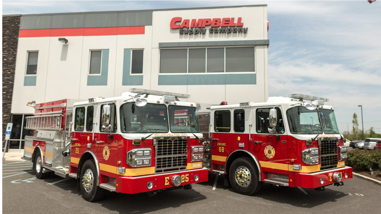 Philadelphia Pa Fire Dept Receives Two Of Six Pumper Order
