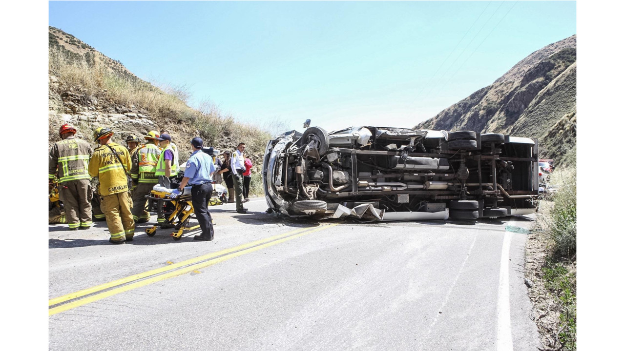 Firefighter News - Many Hurt When Bus Rolls Over in San ...