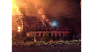 Fire Destroys Historic AL Mill