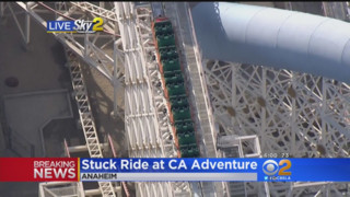 CA Roller Coaster Stopped After Rider Pulls out Selfie Stick