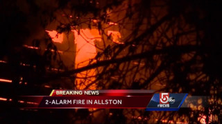 Fire Rips Through Boston Apartment