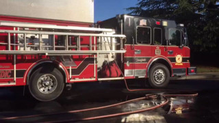 Grass Fire Spreads to CA Houses