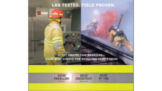 GORE Protective Barriers Reduce Firefighter Heat Stress