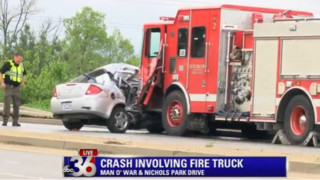 Driver Killed After Car Collision  with KY Pumper