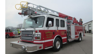 Rainelle, WV, Vol. Firefighters Get New Aerial