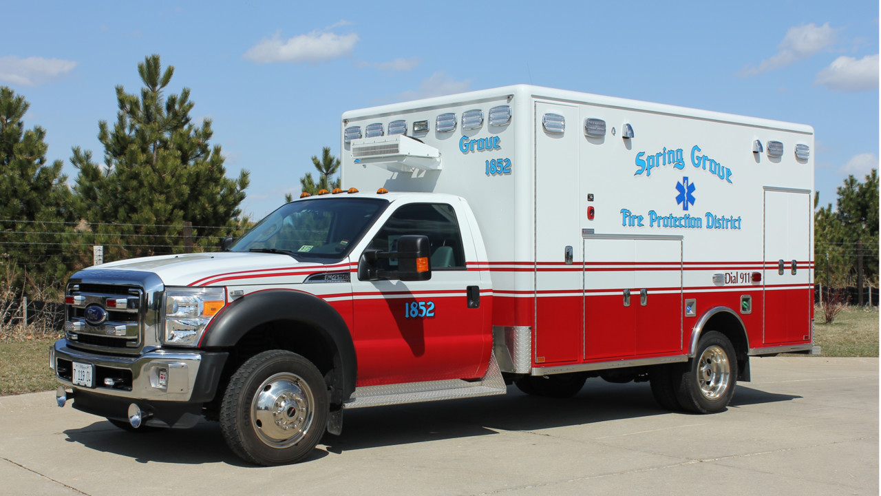 Spring Grove Il Gets 4x4 Type I Ambulance Built By Horton