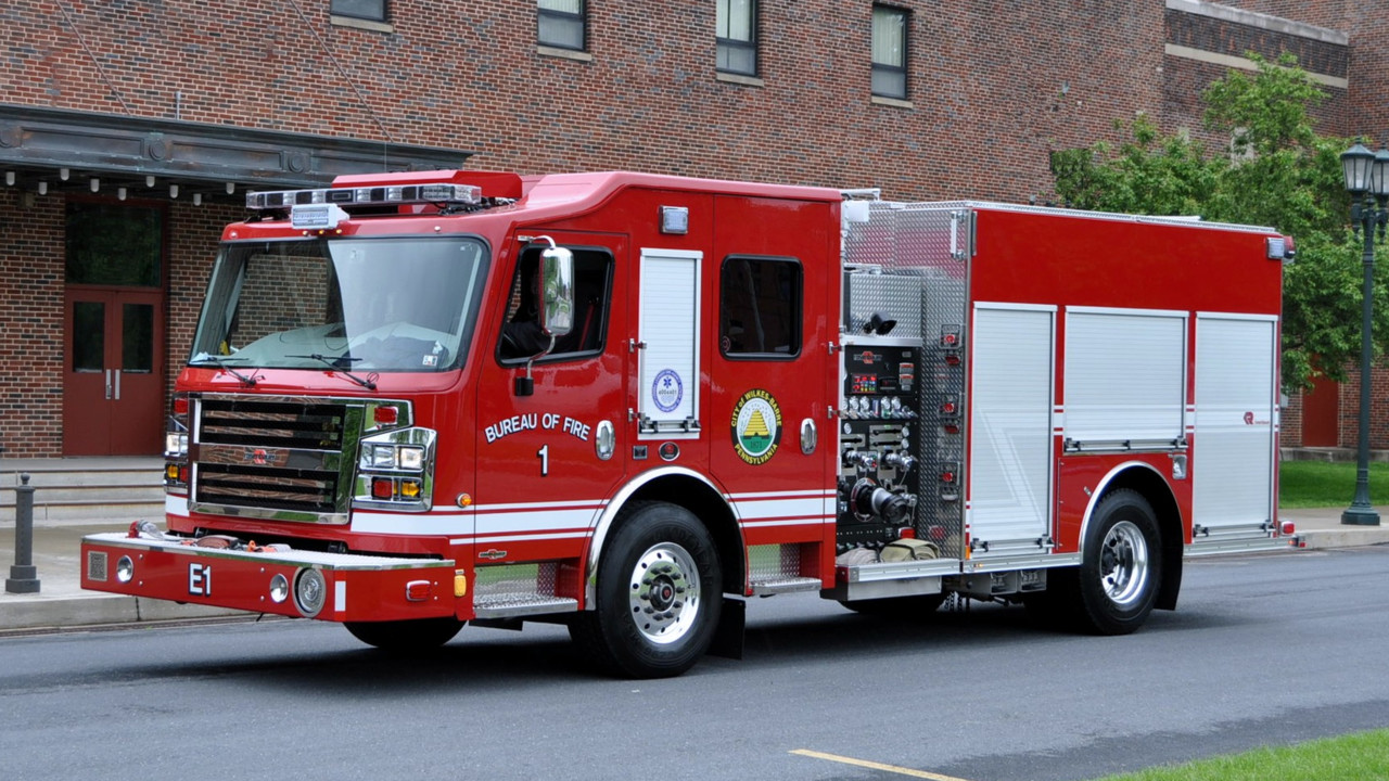 Wilkes-Barre Fire Dept., Rolls With New Custom Pumper Built by ...