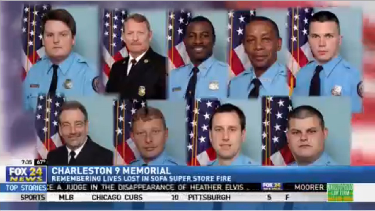 Remembering The Charleston 9 On Fire Anniversary Firehouse