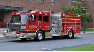 Blairsville, PA, Volunteer Fire Dept.  Puts 'Engine/Tanker 123' in Service