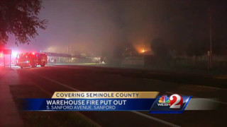 FL Warehouse Goes up in Flames