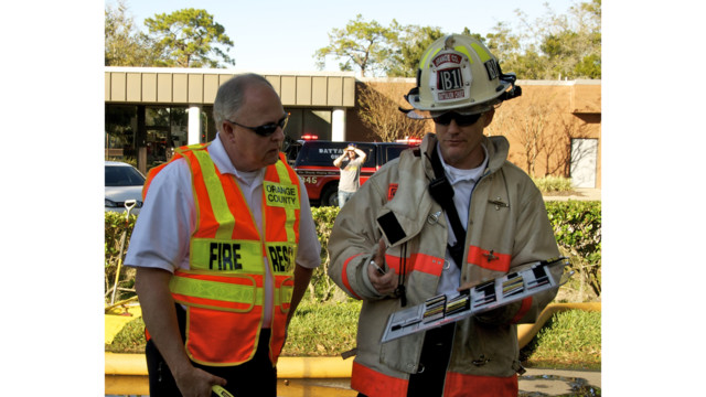 Orange County Fire Rescue Applies Ul Nist Studies To Live Fire Firefighter Training
