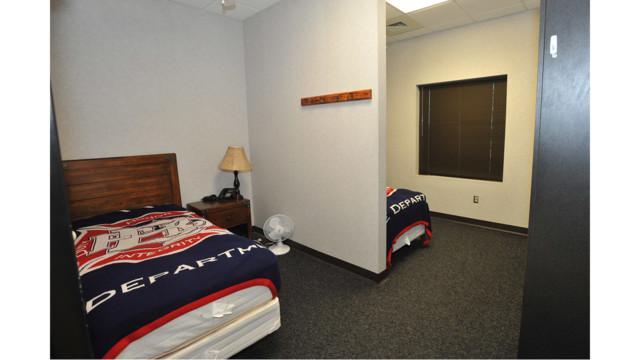 Firehouse Bunk Room Lockers