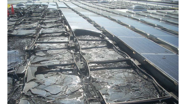 Fire Investigation Solar Photovoltaic System