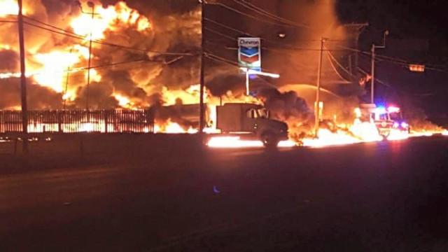 Police say SUV driver killed in Killeen tanker explosion