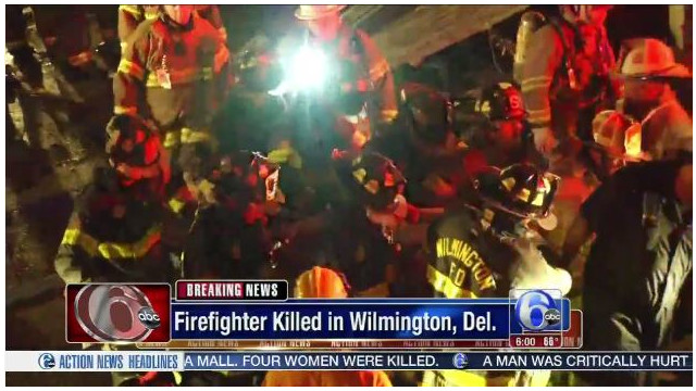 Two firefighters killed in Wilmington