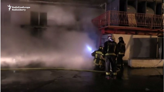Russian firefighters die in Moscow fire