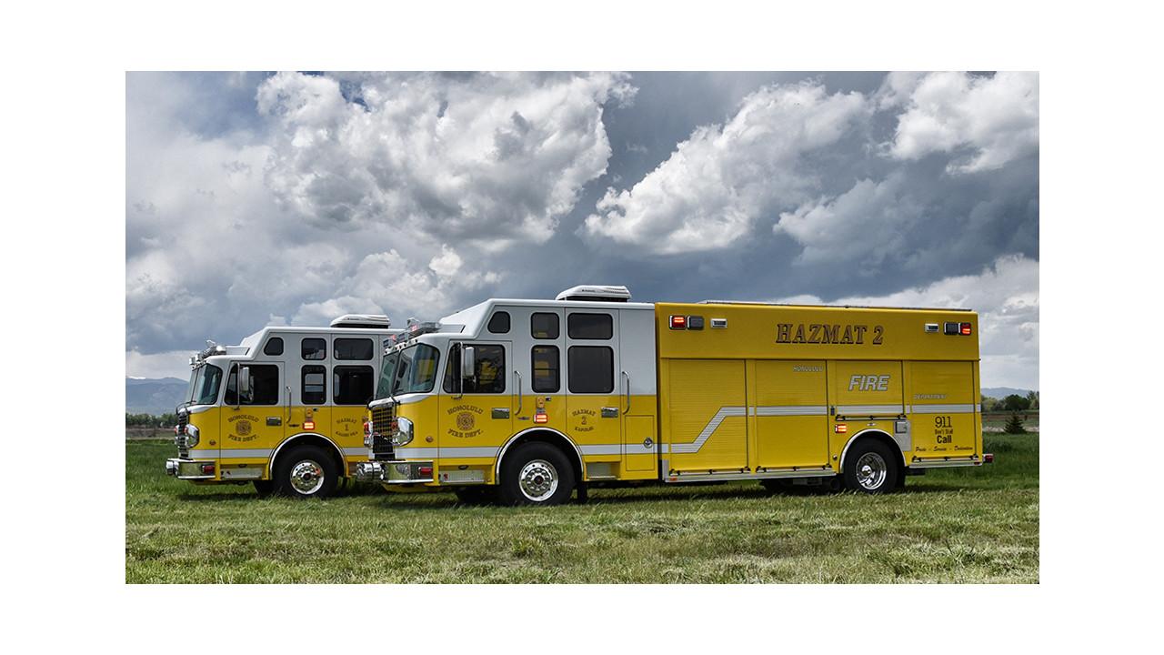 Honolulu, HI, Gets Two Heavy Rescues Built by SVI Trucks | Firehouse