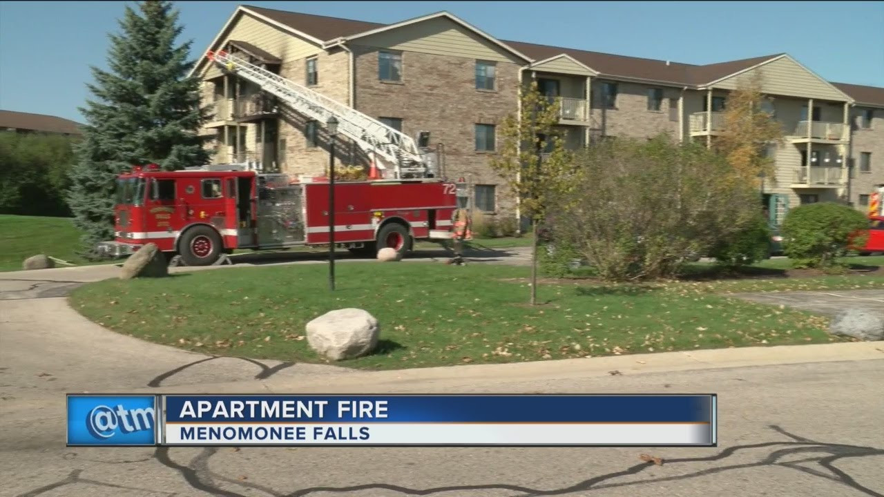 Menomonee Falls Apartment Fire Battled By Several Departments Firefighter News Video