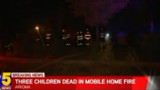 Three Children Killed in OK Mobile Home Fire