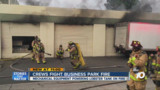 Fire Damages CA Lobster Storage Unit