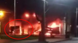 Video Captures PA Chief Battling Fire Station Fire