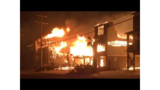Oceanfront Condos Burn in SC