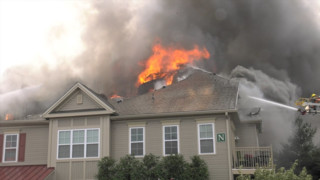 Fire Tears Through PA Apartment Building