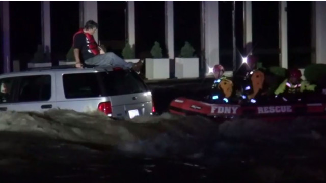 NY USAR Crew Rescues Stranded Motorists in NC