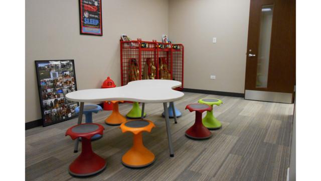 Publice Education Room With Kid Stools 580f6e4615d3e