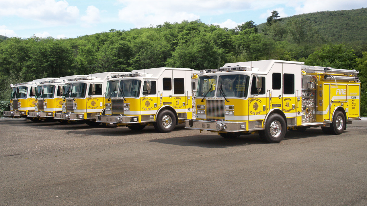 Honolulu Orders Additional Fire Apparatus from KME   Firehouse