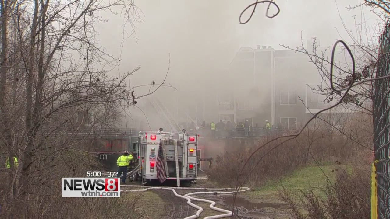 firefighters of new haven New haven -- one person was taken to the hospital, while six people were displaced following a house fire saturday evening the fire impacted two buildings next to.
