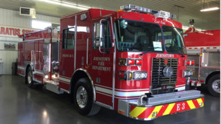 Sutphen corp pumper aerial tower ladder custom fire apparaus apparatus johnstown pa fire dept puts custom rescue engine in service sciox Gallery
