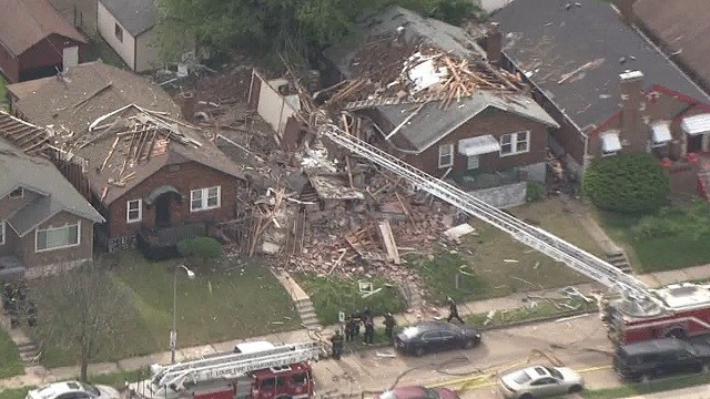 Vacant St. Louis home explosion forces evacuations