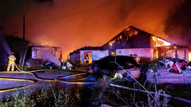 3 children missing, others badly hurt in Texas house fire