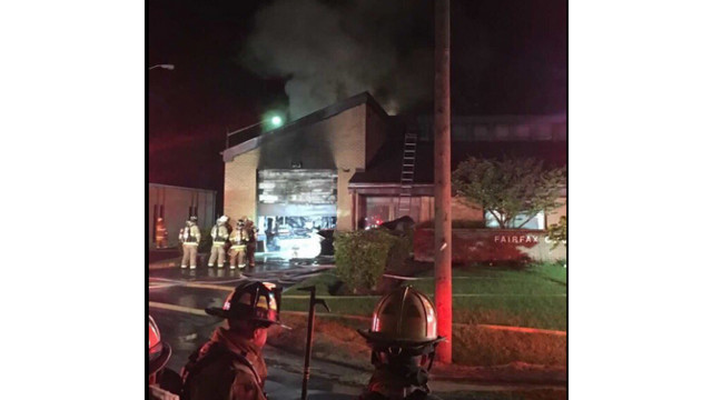 Virginia Fire Station Catches Fire; Second Alarm Called