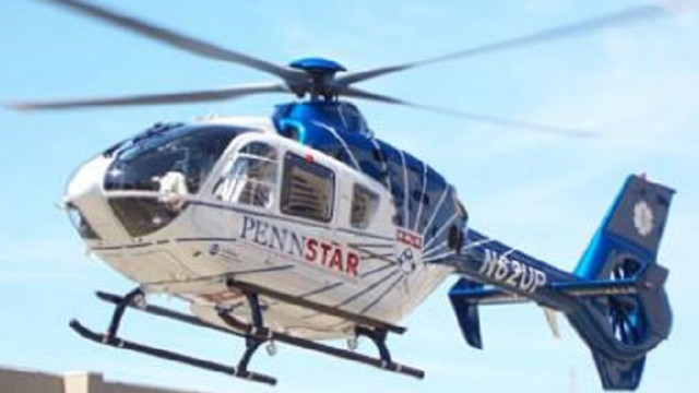 Helicopter crashes in industrial park in Delaware