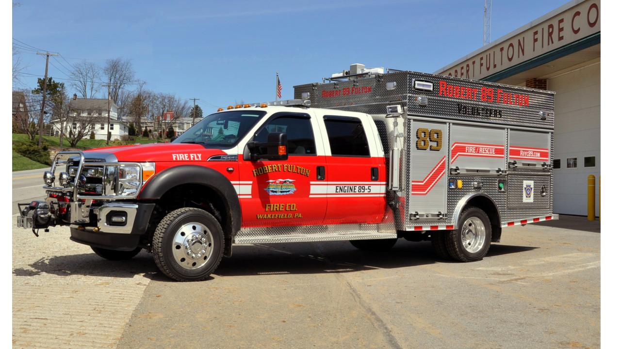 Fulton Township Pa Puts Rapid Response Rig Built By