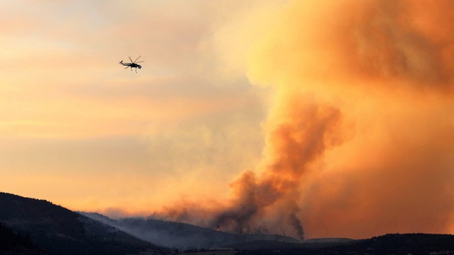 Holcomb Fire Grows to 850 Acres