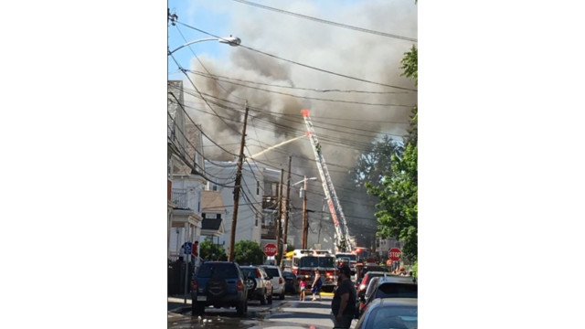 Smoking materials blamed for massive Massachusetts blaze