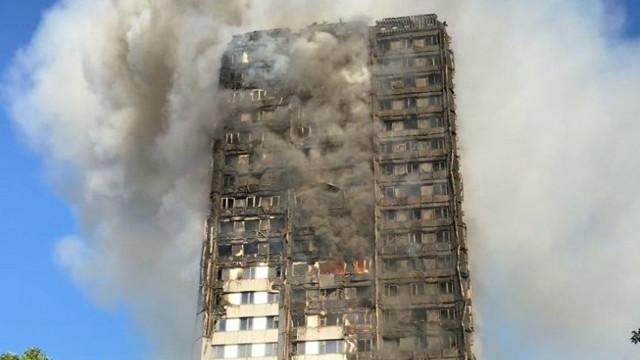 Theresa May offers support package for London fire victims