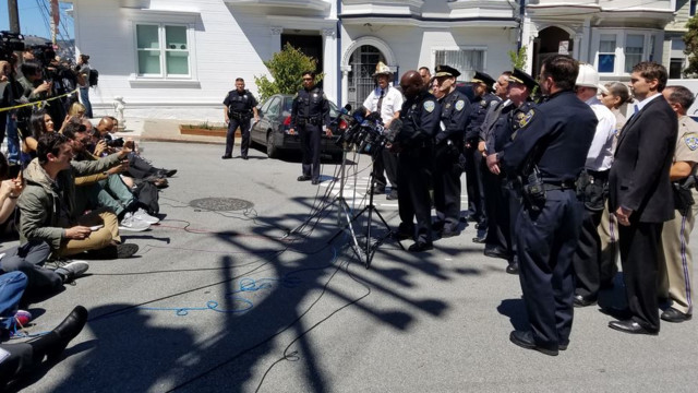 San Francisco police respond to shooting