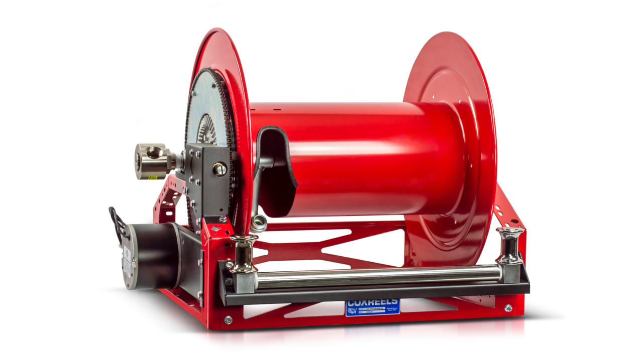 Product Of The Day Coxreels 1600 Series Motorized Hose