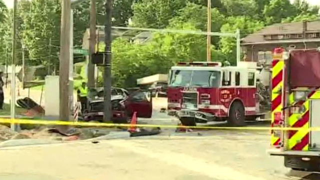 Victims in fatal crash with Akron fire truck identified